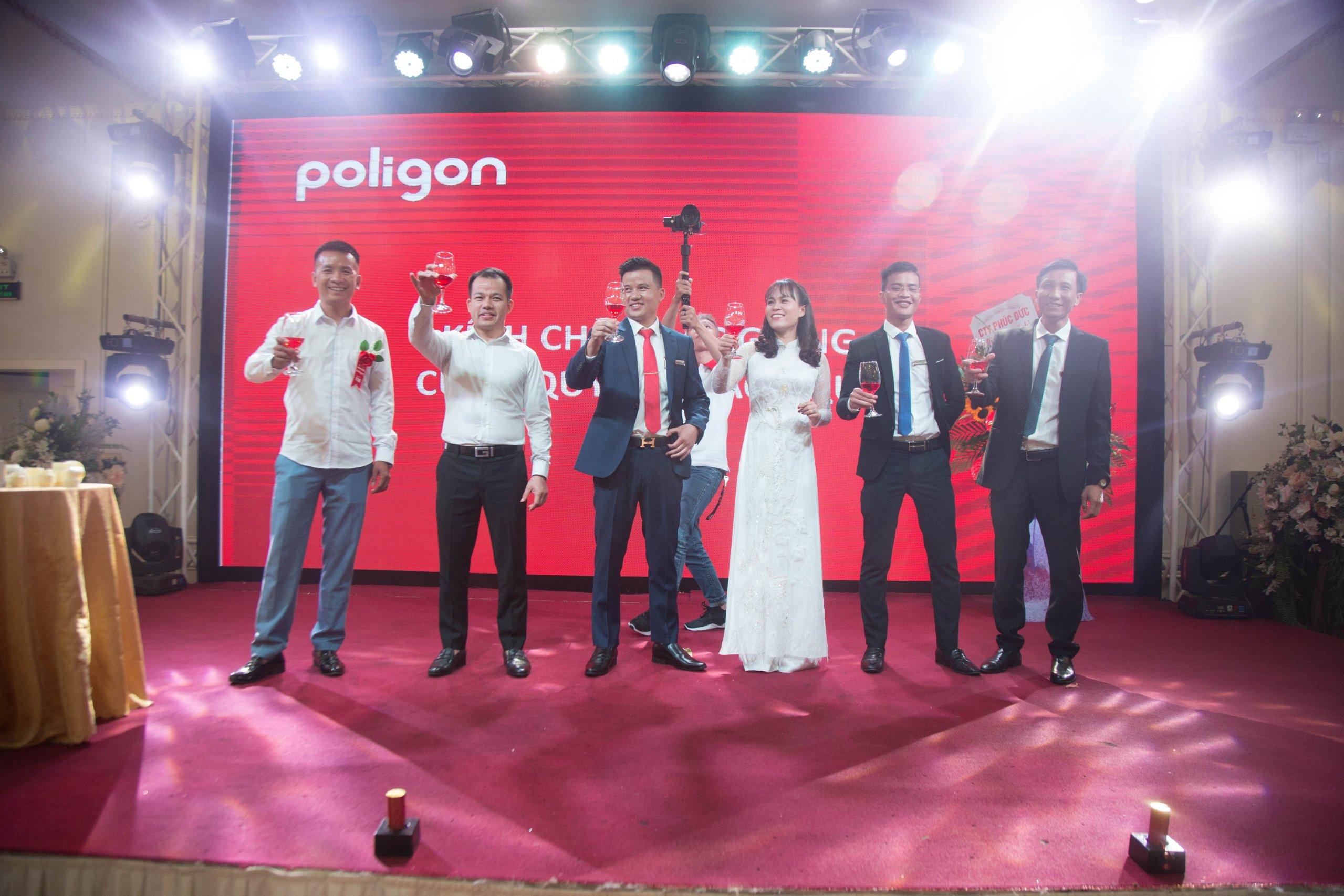Poligon – Tổ chức hội nghị khách hàng tại Bắc Giang